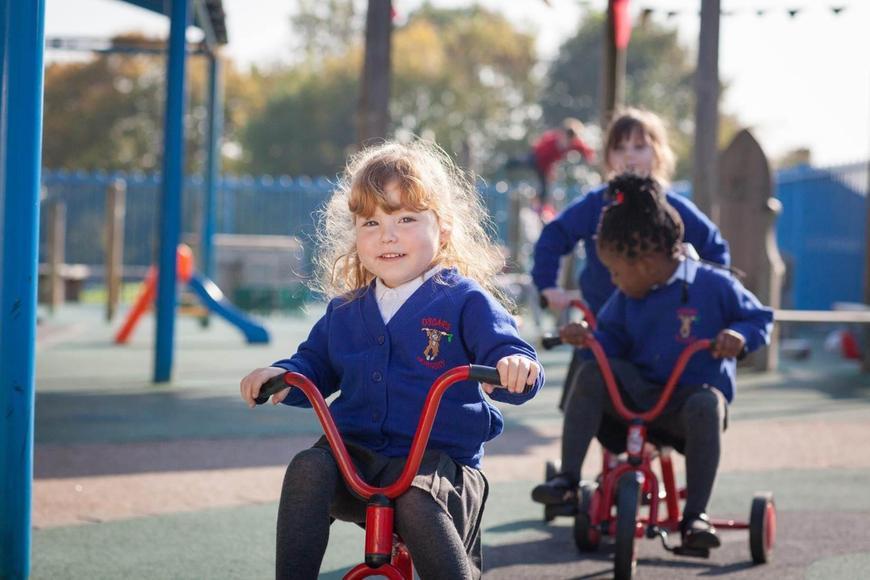 on the playground!