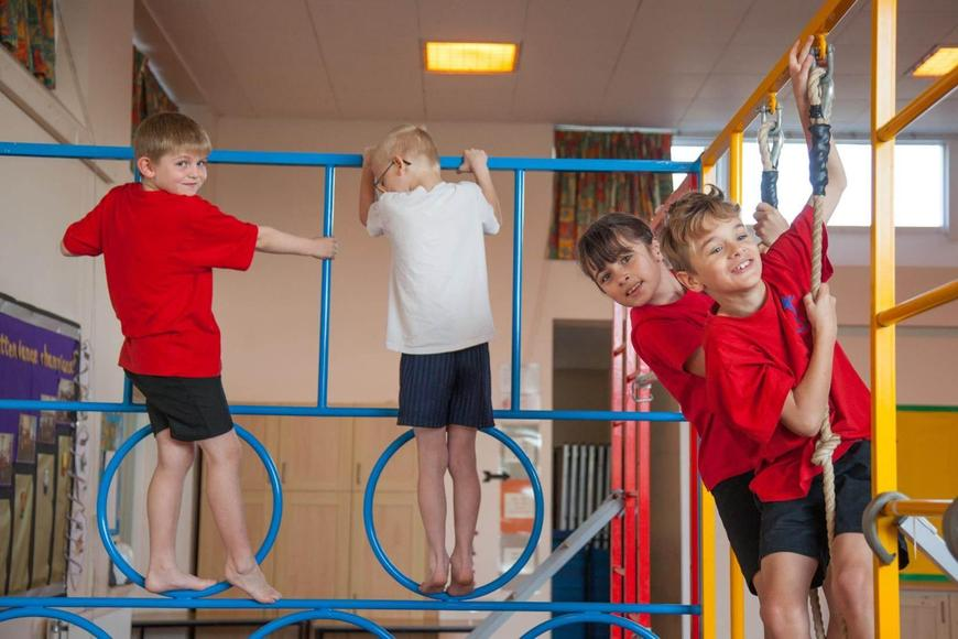 We love to be active in PE lessons and...