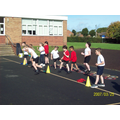 P.E. with Mrs Lees our specialist coach.