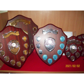 A collection of trophies we have won at our inter-school tournaments.