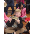 I've won the Golden Ticket!
