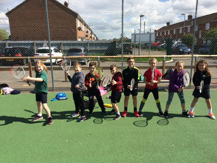 Congratulations to all our yr 3 and 4 tennis teams