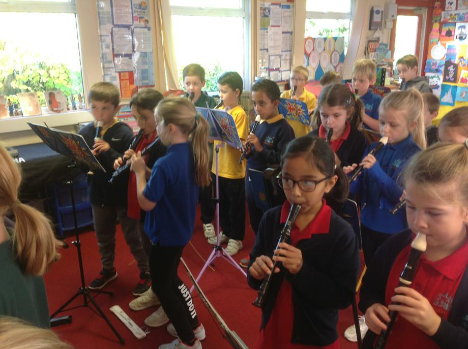 Year 3 recorder lesson