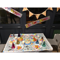 Our celebration topic saw us having a Pinecones birthday party!