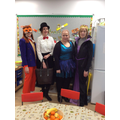 The staff always love to get involved in World Book Day!