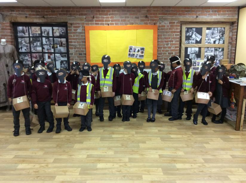 October - Year 2 visited Weston Park