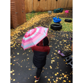 We love outdoor play, even on rainy days.