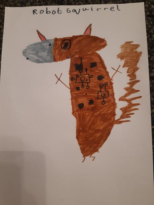 'Robot Squirrel' - Thomas Spoors - 3C