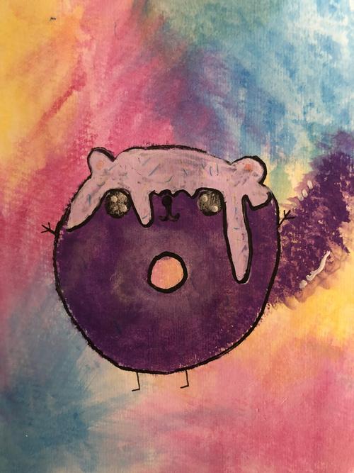 'Doughnut Squirrel' - Sally - 5T