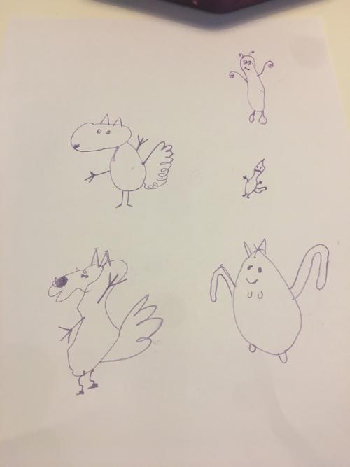 'Crazy Squirrels' - Edie - 4L