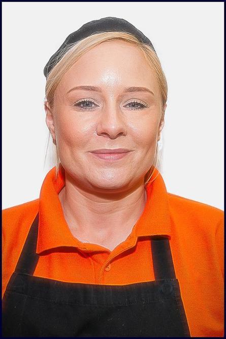 Miss Testo,  Kitchen Assistant