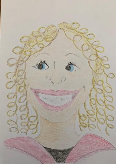 'Mrs Spoors' - drawn by Mrs Corbin