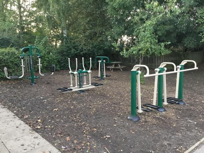We also used PE Premium to purchase our fantastic outdoor gym equipment