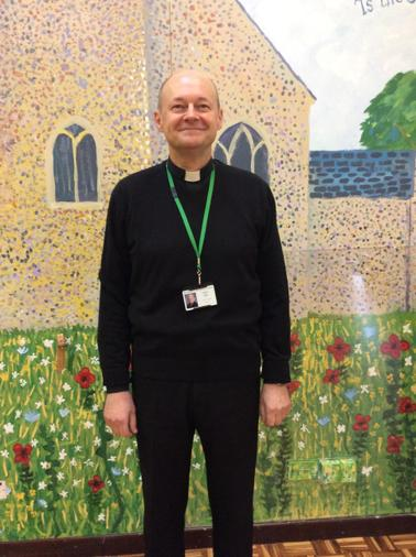 Father Glen is a regular visitor to our school