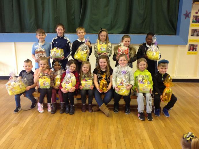 Congratulations Easter basket prizewinners