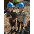 We climbed Jacob's Ladder