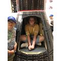 Inside John Glenn's craft