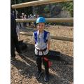 Zak's ready to climb