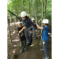 Great balancing on the low ropes