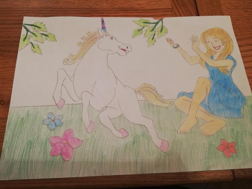 Khloe's fantastic artwork!