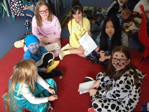 We had great fun on World Book Day!