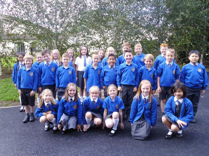 Meet Mrs Dunlop's P5 class!