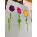 Beautiful tulips.