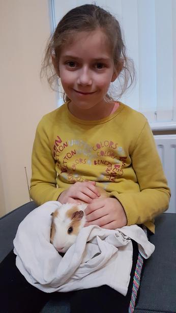 Hanna's pet!