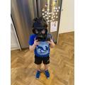 A gas mask.