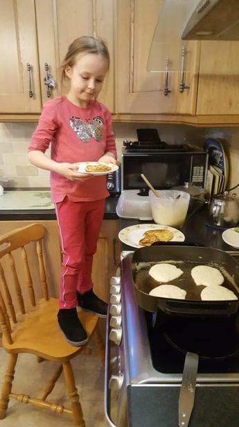 Those pancakes look really good,Lauren!