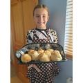 VE Day scones - delicious!
