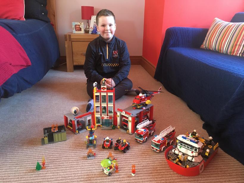 Ollie's amazing Lego skills