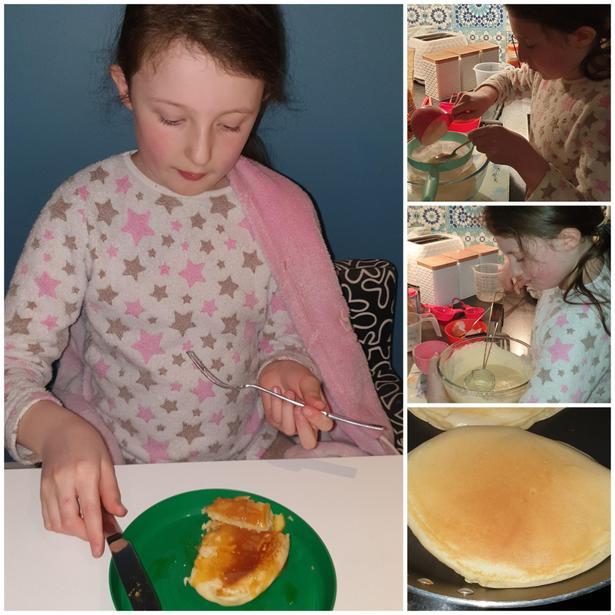 Yummy pancakes!