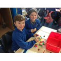 We had great fun with cubes!