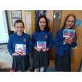 Our Numeracy Day Art Winners  Well done girls!