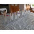 A chromatography experiment.