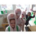Three Little Piggies and a Big Bad Wolf!