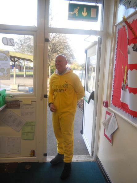 Our very own life size Pudsey!