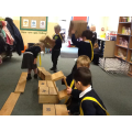 Ordering numbers 0-10 building our pirate plank