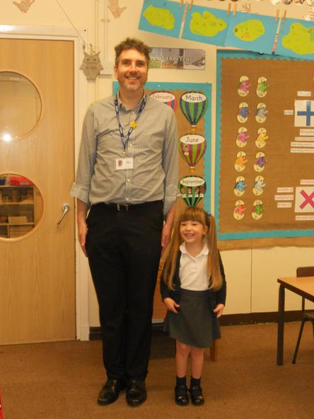 Meet the tallest and shortest members of Class 1N!