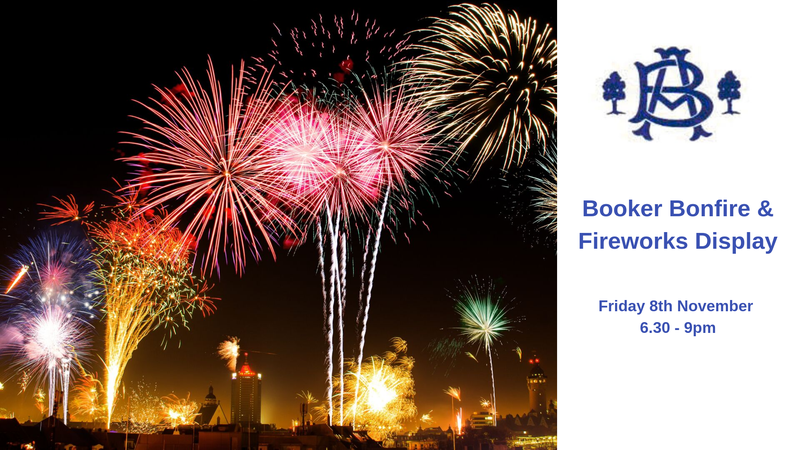 Booker Bonfire & Fireworks 2019