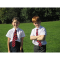 Emily and Oliver (Year 5)