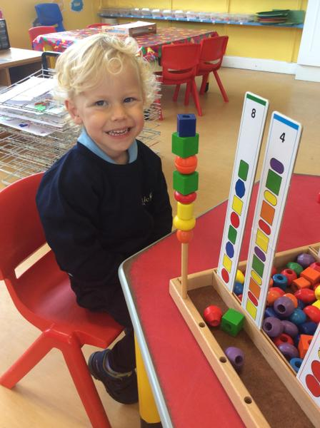 Discovering shapes and colors
