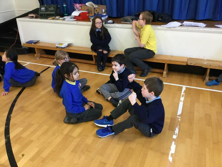 P5 getting to know the Holy Rosary class