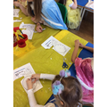 We made clocks for Cinderella