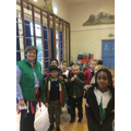 Mrs Thompson and P3 go green!