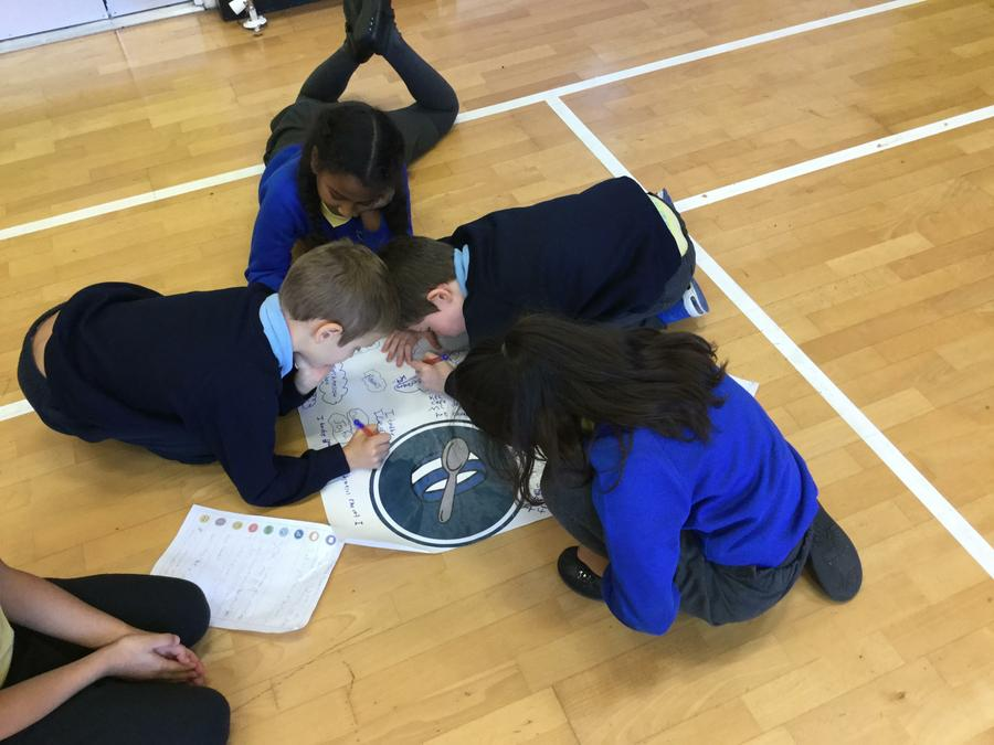 P5 planning for our Autumn Haiku poems