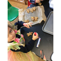 We made our own Gingerbread men