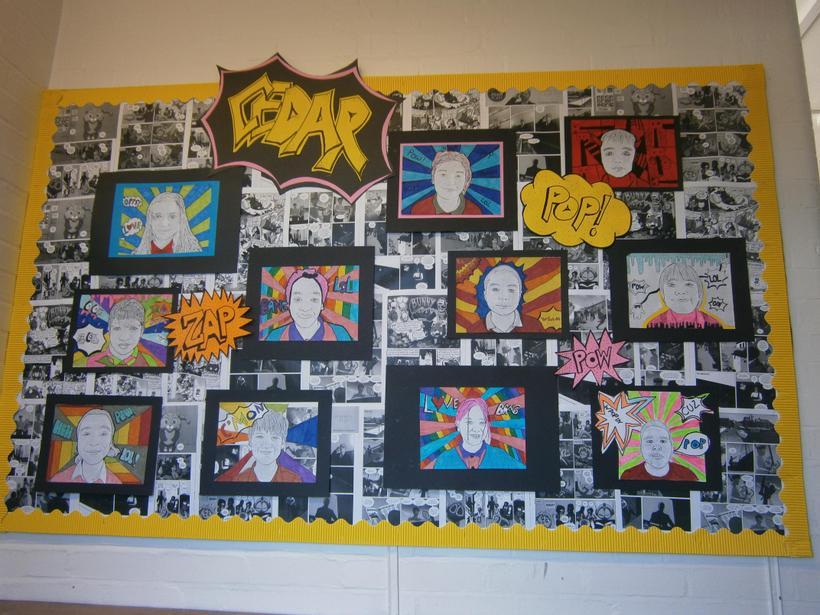 Pop Art in Year 6