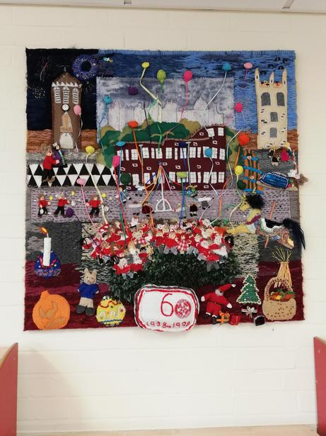 This was our 60th birthday tapestry!